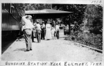 Sunshine Railroad Station, located near Elkmont
