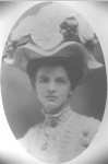 Dora Ina Mabry Campbell on her wedding day, 1907