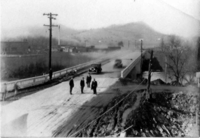 Sevierville, Looking North on US Highway 411 about 1920