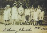Bethany Church, Girls Sunday School 1920