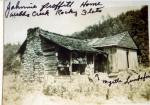 Johnny Proffit's Home on Webb's Creek at Rocky Flats