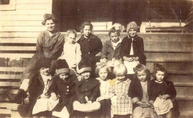 Long Springs School c. 1910