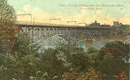 Knox County Bridge, circa 1910