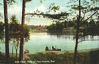Lake Ottosee at Chilhowee Park circa 1915