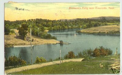 Brabson's Ferry at Boyd's Creek