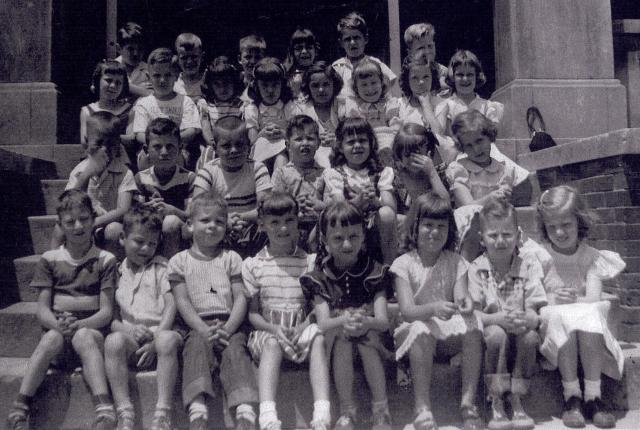 Miss Meta Cunningham's First Grade Class, McCallie School, 1952-53