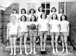 Ball Camp Elementary School Girls' Basketball Team, 1950