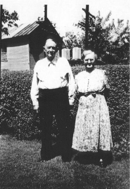 David Crockett Newcomb and Priscilla Murphy Newcomb