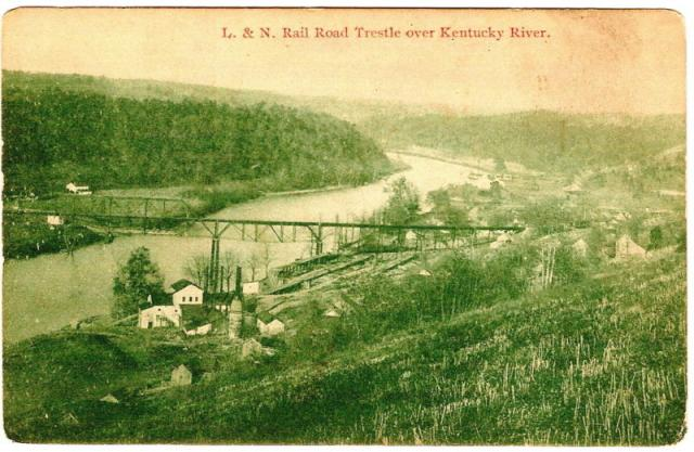 L&N Railroad Trestle Over Kentucky River