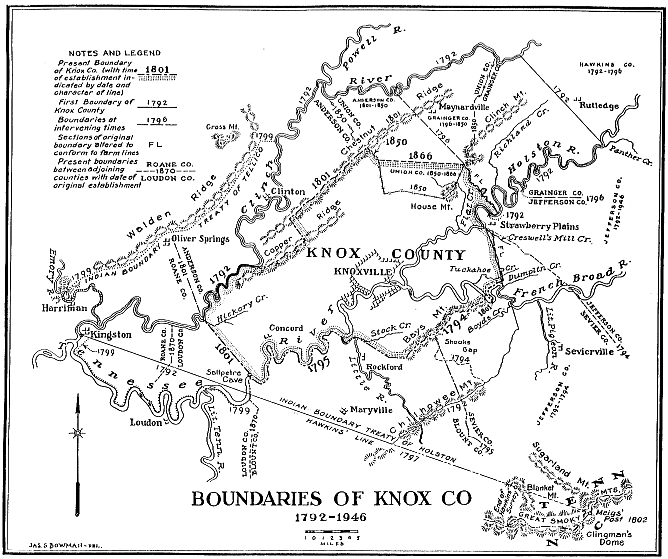 Boundaries Map