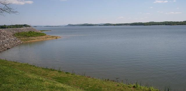 Jefferson County: Cherokee Lake from the Dam looking East