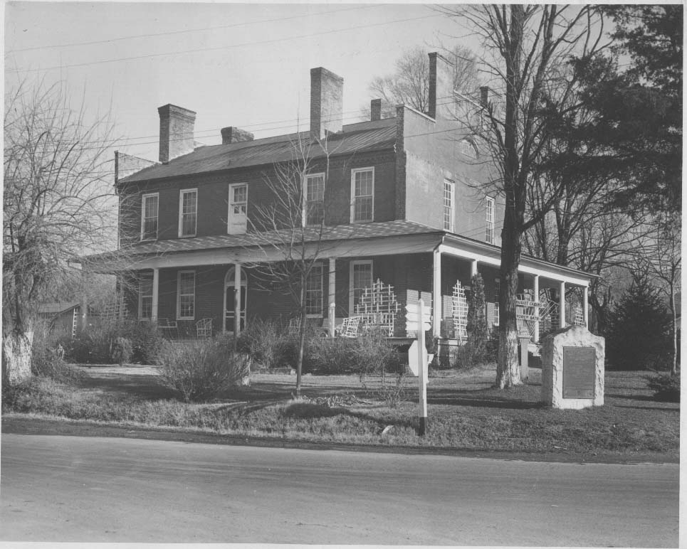 Old Bean Station Tavern about 1935